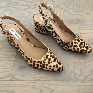 Cheetah/Leopard Slingback Heels